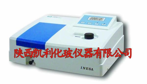 上海仪电分析、气象色谱仪陕西地区一级代理  721可见分光光度计