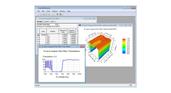 光学薄膜分析与设计软件Essential Macleod