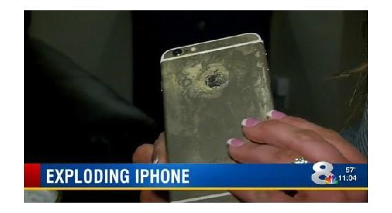 苹果手机再出安全事故 iPhone 6 Plus充电时发生爆炸