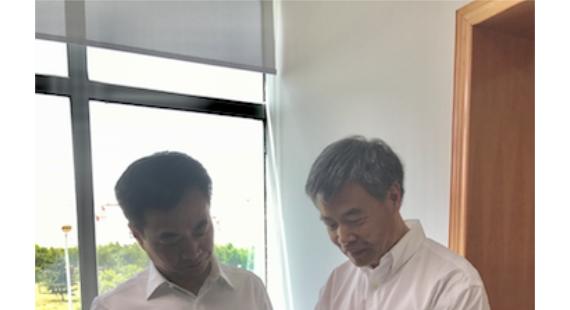 西安光机所孵化企业华博医疗获颁陕西自贸区首张专家证
