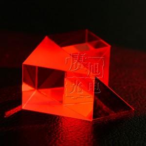650nm激光模组滤光片 红带通滤光片 赓旭