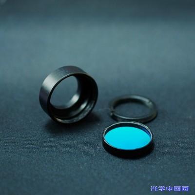 纳宏 供应BP带通滤光片 蓝玻璃滤光片 BP滤光片 254nm滤光片