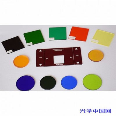 供应有色光学玻璃滤光片  紫外滤光片
