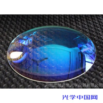 陵合美专业生产直径200mm平凸透镜,厂家冷加工各种玻璃光学透镜