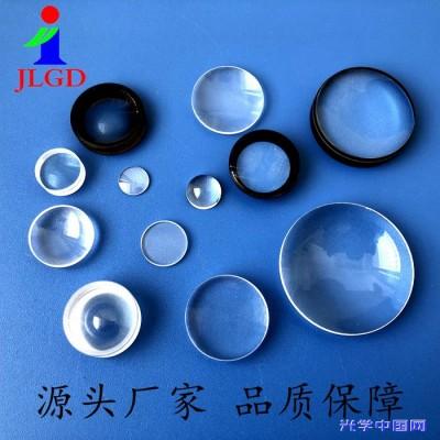 镀膜消色差胶合VR眼镜镜片 加工光学玻璃 定制 平凸透镜