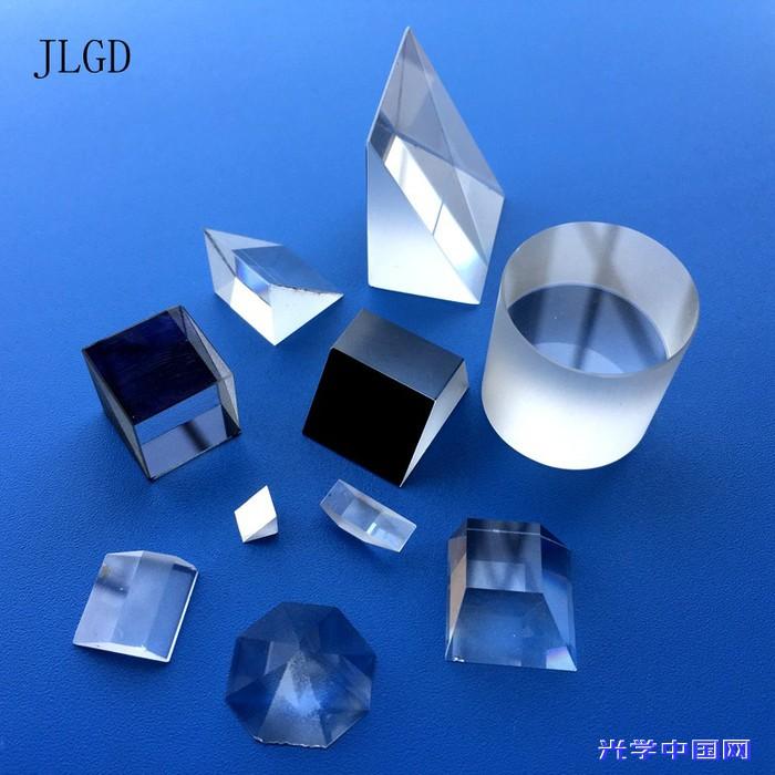 直角反射激光三棱镜 定制等边玻璃透镜  光学镀膜加工 包邮