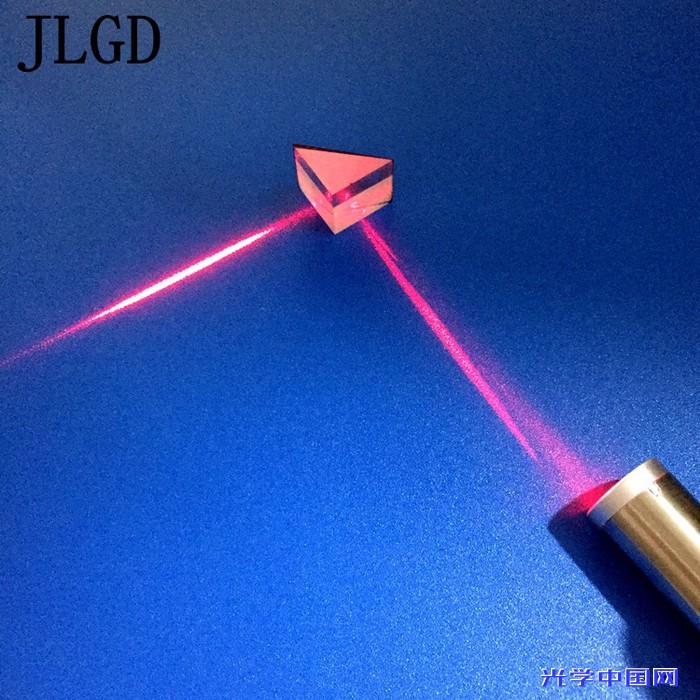 加工光学玻璃三棱镜  定制15 20等腰直角全反射激光检测三菱镜