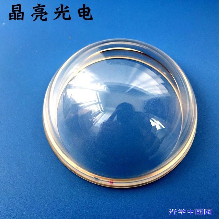 玻璃消色差胶合透镜定制石英三棱镜光学镀膜镜片加工