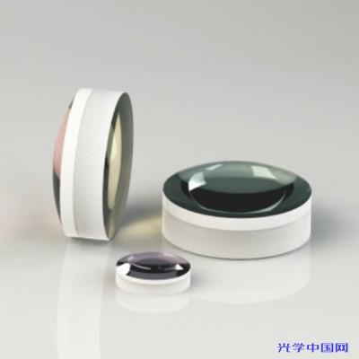 联合光科 消色差正胶合透镜 直径D=15.0mm 焦距F=50.0mm