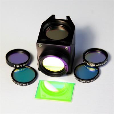 高性噪比 FITC荧光团 尼康显微镜 荧光滤光片