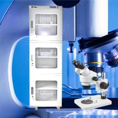 光学镜头优选云博士防潮箱,精密光学器件专用