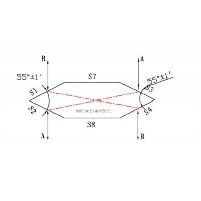 六角棱镜,光开关使用元件,超10年生产经验