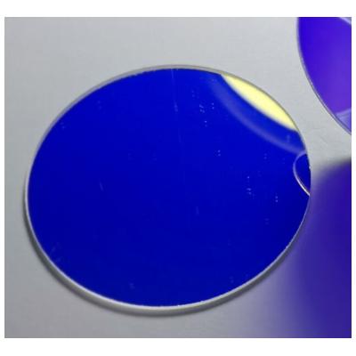 紫外反射片全波段反射镜石英玻璃镀膜镜片光化学反应釜滤光片