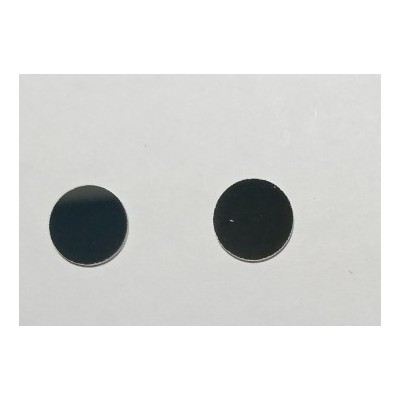 紫外荧光验伤滤光片365nm紫外玻璃镜片可见光吸收紫外滤色片