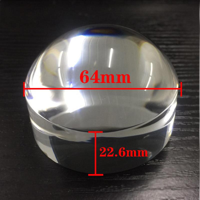 供应广东惠视康HY-64直径64mm亚克力镜片支持定制